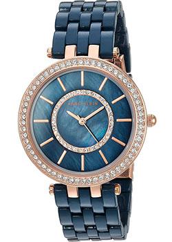 fashion наручные  женские часы Anne Klein 2620NVRG. Коллекция Crystal