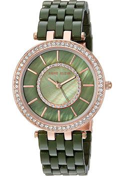 fashion наручные  женские часы Anne Klein 2620OLRG. Коллекция Crystal