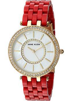 fashion наручные  женские часы Anne Klein 2620RDGB. Коллекция Crystal