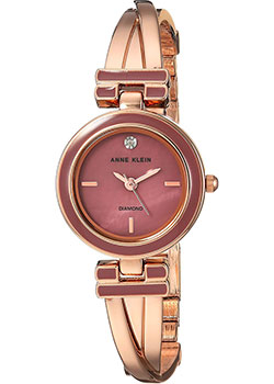 fashion наручные  женские часы Anne Klein 2622MVRG. Коллекция Diamond