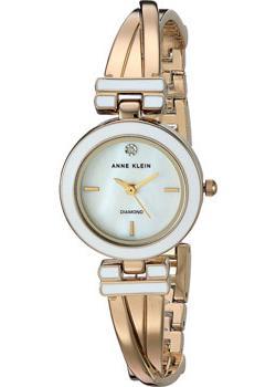 fashion наручные  женские часы Anne Klein 2622WTGB. Коллекция Diamond