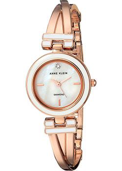 fashion наручные  женские часы Anne Klein 2622WTRG. Коллекция Diamond