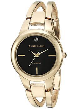fashion наручные  женские часы Anne Klein 2628BKGB. Коллекция Diamond