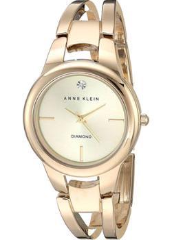fashion наручные  женские часы Anne Klein 2628CHGB. Коллекция Diamond
