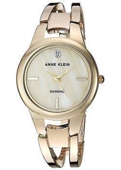 fashion наручные  женские часы Anne Klein 2628CMGB. Коллекция Diamond