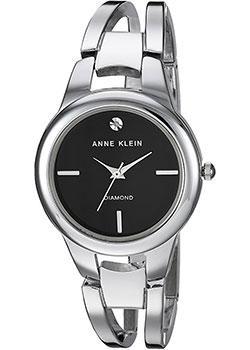 fashion наручные  женские часы Anne Klein 2629BKSV. Коллекция Diamond