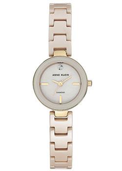 fashion наручные  женские часы Anne Klein 2660TNGB. Коллекция Diamond