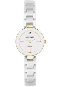fashion наручные  женские часы Anne Klein 2660WTGB. Коллекция Diamond