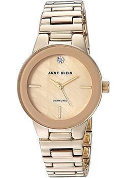 fashion наручные  женские часы Anne Klein 2670TMGB. Коллекция Diamond