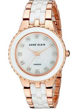 fashion наручные  женские часы Anne Klein 2712WTRG. Коллекция Diamond
