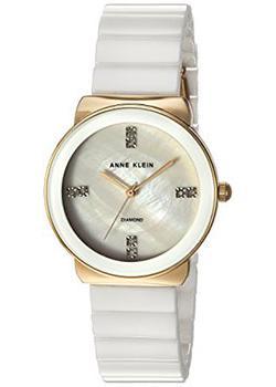 fashion наручные  женские часы Anne Klein 2714WTGB. Коллекция Diamond
