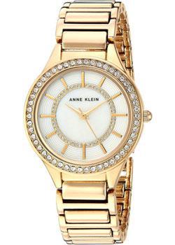 fashion наручные  женские часы Anne Klein 2722MPGB. Коллекция Crystal