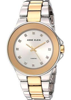 fashion наручные  женские часы Anne Klein 2755SVTT. Коллекция Diamond