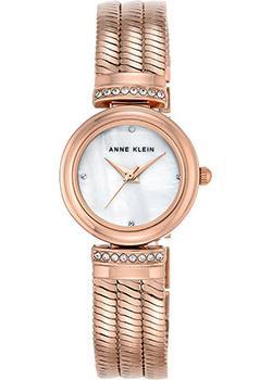 fashion наручные  женские часы Anne Klein 2758MPRG. Коллекция Crystal