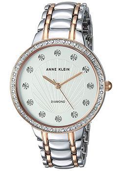 fashion наручные  женские часы Anne Klein 2781SVRT. Коллекция Diamond