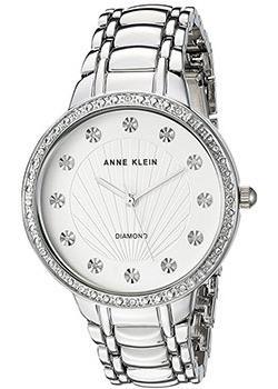 fashion наручные  женские часы Anne Klein 2781SVSV. Коллекция Diamond