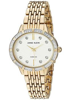 fashion наручные  женские часы Anne Klein 2782SVGB. Коллекция Diamond