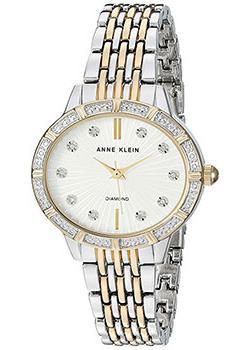 fashion наручные  женские часы Anne Klein 2783SVTT. Коллекция Diamond