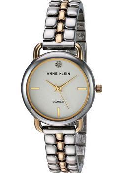 fashion наручные  женские часы Anne Klein 2795SVTT. Коллекция Diamond