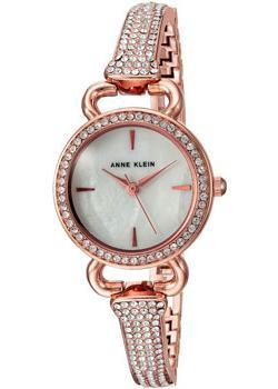 fashion наручные  женские часы Anne Klein 2816MPRG. Коллекция Crystal