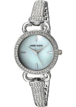 fashion наручные  женские часы Anne Klein 2817MPSV. Коллекция Crystal.