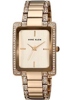 fashion наручные  женские часы Anne Klein 2838CHGB. Коллекция Crystal
