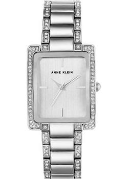 fashion наручные  женские часы Anne Klein 2839SVSV. Коллекция Crystal
