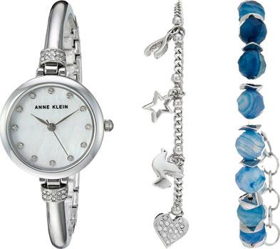 fashion наручные  женские часы Anne Klein 2841BAGT. Коллекция Crystal