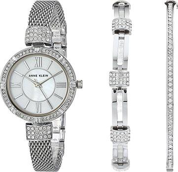 fashion наручные  женские часы Anne Klein 2845SVST. Коллекция Crystal