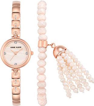 fashion наручные  женские часы Anne Klein 2854RGST. Коллекция Crystal