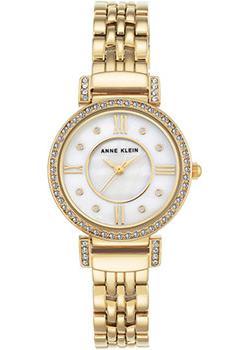 fashion наручные  женские часы Anne Klein 2928MPGB. Коллекция Crystal