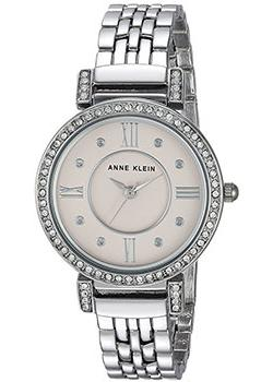 fashion наручные  женские часы Anne Klein 2929LPSV. Коллекция Crystal