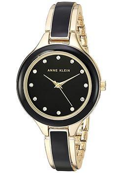 fashion наручные  женские часы Anne Klein 2934BKGB. Коллекция Crystal