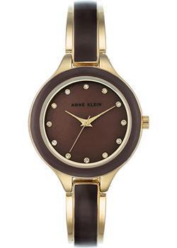 fashion наручные  женские часы Anne Klein 2934BNGB. Коллекция Crystal