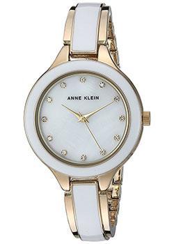 fashion наручные  женские часы Anne Klein 2934WTGB. Коллекция Crystal