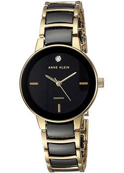 fashion наручные  женские часы Anne Klein 2960BKGB. Коллекция Diamond