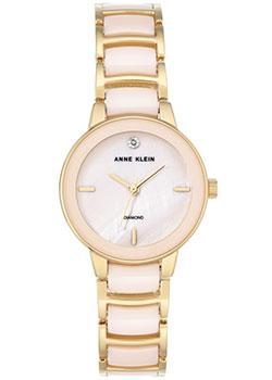 fashion наручные  женские часы Anne Klein 2960LPGB. Коллекция Diamond