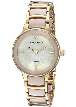 fashion наручные  женские часы Anne Klein 2960TNGB. Коллекция Diamond