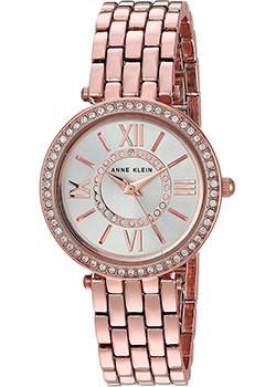 fashion наручные  женские часы Anne Klein 2966SVRG. Коллекция Crystal