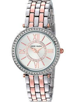 fashion наручные  женские часы Anne Klein 2967SVRT. Коллекция Crystal