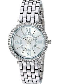 fashion наручные  женские часы Anne Klein 2967SVSV. Коллекция Crystal