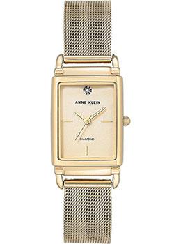 fashion наручные  женские часы Anne Klein 2970CHGB. Коллекция Diamond