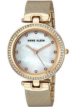 fashion наручные  женские часы Anne Klein 2972MPGB. Коллекция Crystal