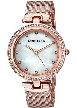 fashion наручные  женские часы Anne Klein 2972MPRG. Коллекция Crystal.