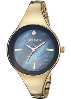 fashion наручные  женские часы Anne Klein 2974NVGB. Коллекция Diamond