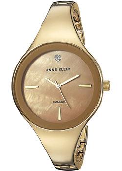 fashion наручные  женские часы Anne Klein 2974TNGB. Коллекция Diamond