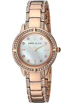 fashion наручные  женские часы Anne Klein 2976MPRG. Коллекция Crystal.