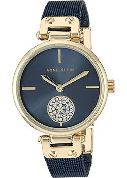 Fashion наручные женские часы Anne Klein 3001GPBL. Коллекция Crystal фото