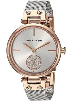 fashion наручные  женские часы Anne Klein 3001SVRT. Коллекция Crystal.