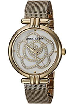 fashion наручные  женские часы Anne Klein 3102MPGB. Коллекция Crystal.